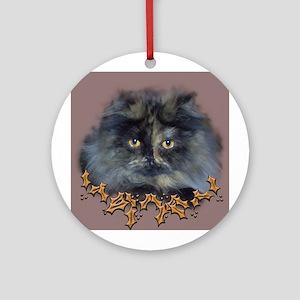 Fab Feline Ornament (Round)