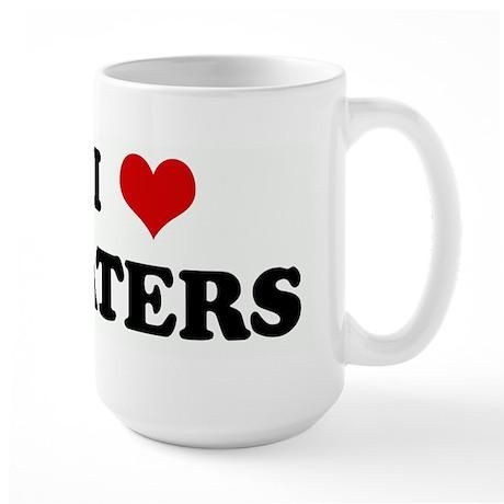 I Love TATERS Large Mug