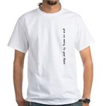 No Mercy White T-Shirt