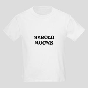 BAROLO ROCKS Kids T-Shirt