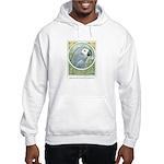 African Grey Hooded Sweatshirt