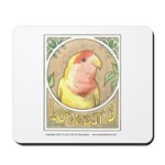Lovebird Mousepad
