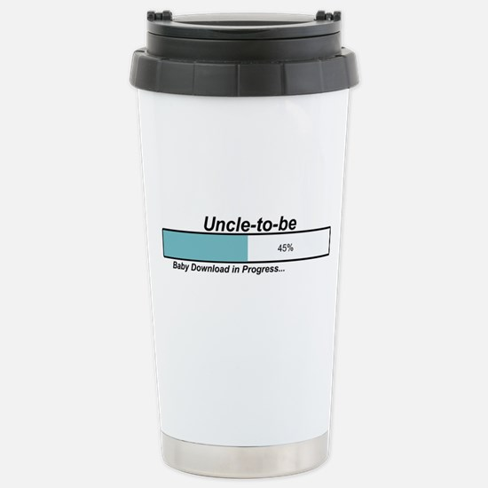 Download Uncle to Be Stainless Steel Travel Mug