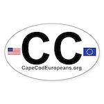 Cape Cod Europeans Car Sticker