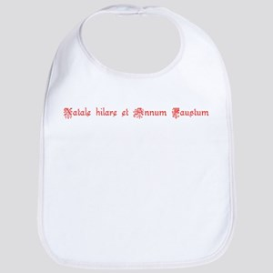 Latin Merry Christmas Bib