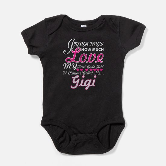 I Never Knew How Much Love My Heart Hold Body Suit