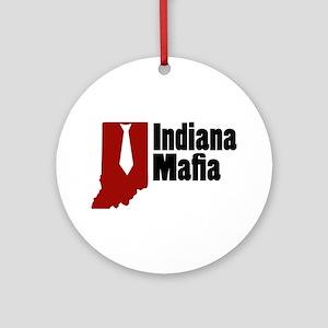 Indiana Mafia Ornament (Round)