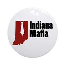Indiana Mafia Ornament (Round)