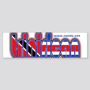 Trini(Costa)Rican Bumper Sticker