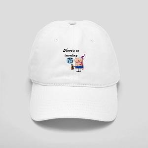 75th Birthday Cap