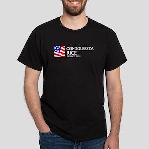 Rice 08 Black T-Shirt