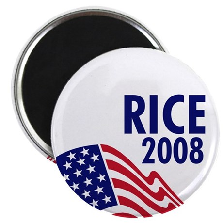 "Rice 08 2.25"" Magnet (100 pack)"