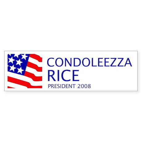 Rice 08 Bumper Sticker