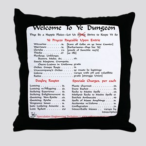 Dungeon Rules Pillow