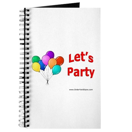 Let's Party Journal