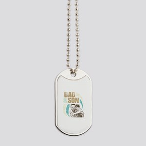 Dad and Son, one Love Dog Tags