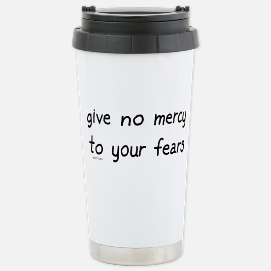 No Mercy Stainless Steel Travel Mug