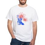 ILY Fireworks Liberty White T-Shirt