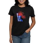 ILY Fireworks Liberty Women's Dark T-Shirt
