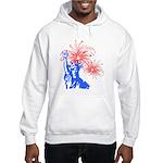 ILY Fireworks Liberty Hooded Sweatshirt