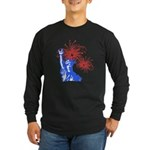 ILY Fireworks Liberty Long Sleeve Dark T-Shirt