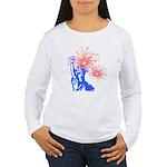 ILY Fireworks Liberty Women's Long Sleeve T-Shirt