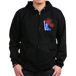 ILY Fireworks Liberty Zip Hoodie (dark)