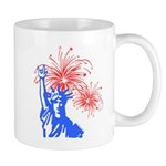 ILY Fireworks Liberty Mug