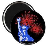 ILY Fireworks Liberty Magnet