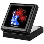 ILY Fireworks Liberty Night Keepsake Box