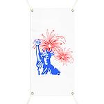 ILY Fireworks Liberty Banner