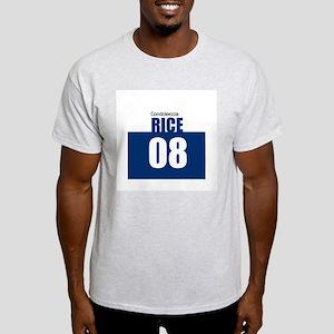 Rice 08 Ash Grey T-Shirt
