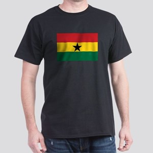 Ghana Flag Dark T-Shirt