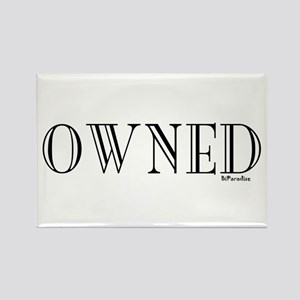 OWNED Rectangle Magnet