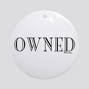 OWNED Ornament (Round)