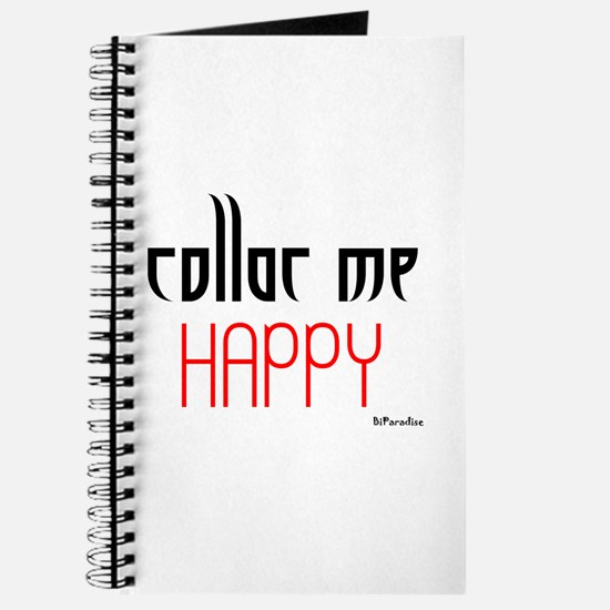 Collar Me Happy (red) Journal