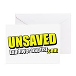 Yellow Unsaved Greeting Cards (Pk of 10)