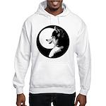Siberian Husky Sled Dog Hooded Sweatshirt
