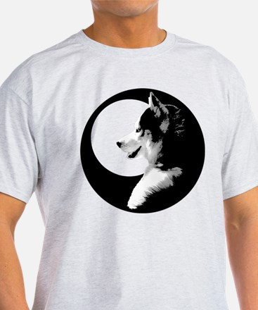 Siberian Husky Sled Dog T-Shirt