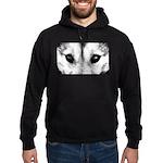 Wolf Pup Husky Hoodie Sled Dog Hoodie (dark)