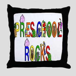 Preschool Rocks Throw Pillow