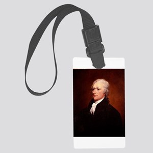 Alexander Hamilton Luggage Tag