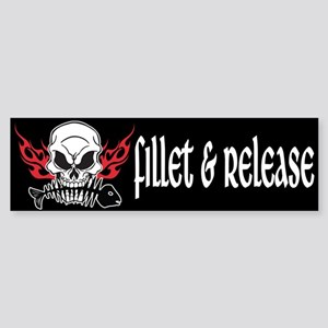Fillet & Release Bumper Sticker