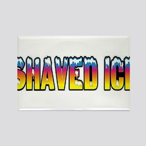 Shaved Ice Rectangle Magnet