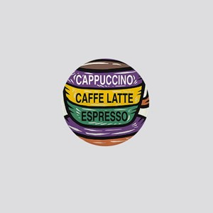 Cappacino Mini Button