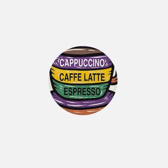 Cappacino Mini Button