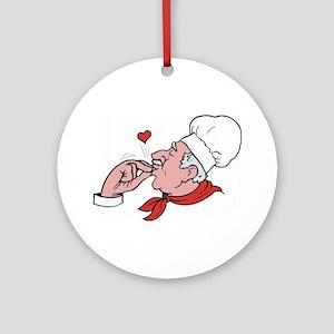Great Chef Ornament (Round)
