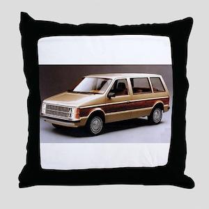 1984 Dodge Caravan Throw Pillow