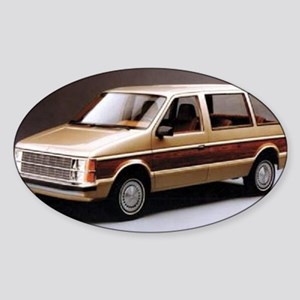 1984 Dodge Caravan Oval Sticker