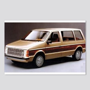 1984 Dodge Caravan Postcards (Package of 8)